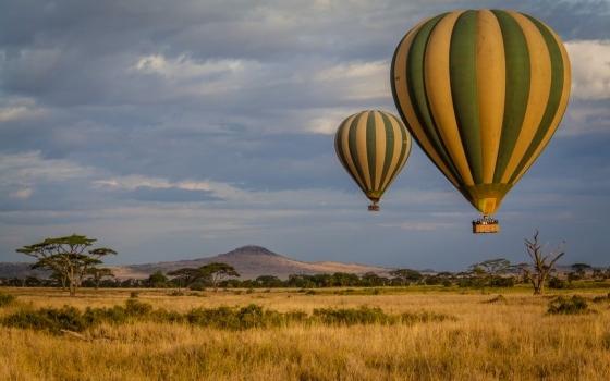 Balloon Safari on the SERENGETI national park