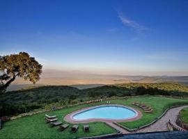 Sopa Lodge in Ngorongoro